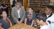 League Academy Students Discuss The Water Cycle with Commissioner Sofield